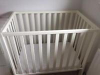 Mamas and papas cot and mattress