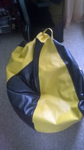Adult size Leather Beanbag