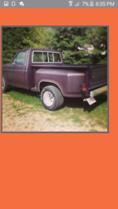 looking for 982 Ford F-100 Pickup Truck rolling chassis