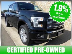 2015 FORD F150 4X4 4WD