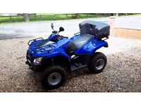 ROAD REGISTERED QUAD BIKE.