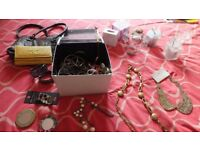 COSTUME JEWELLERY AND SCENTED CANDLES