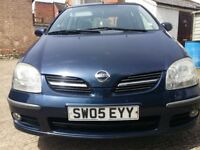Selling my Nissan Almera Tino 1.8 due to buying a new car.