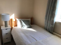 Fantastic value single room ALL bills included. Happy, stable, quiet household £109 pw. No agent fee