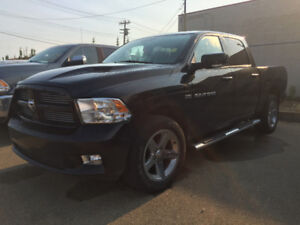 *ADS SPECIAL* 2012 RAM 1500 CREW CAB SPORT WITH LOW KS ACCIDENT