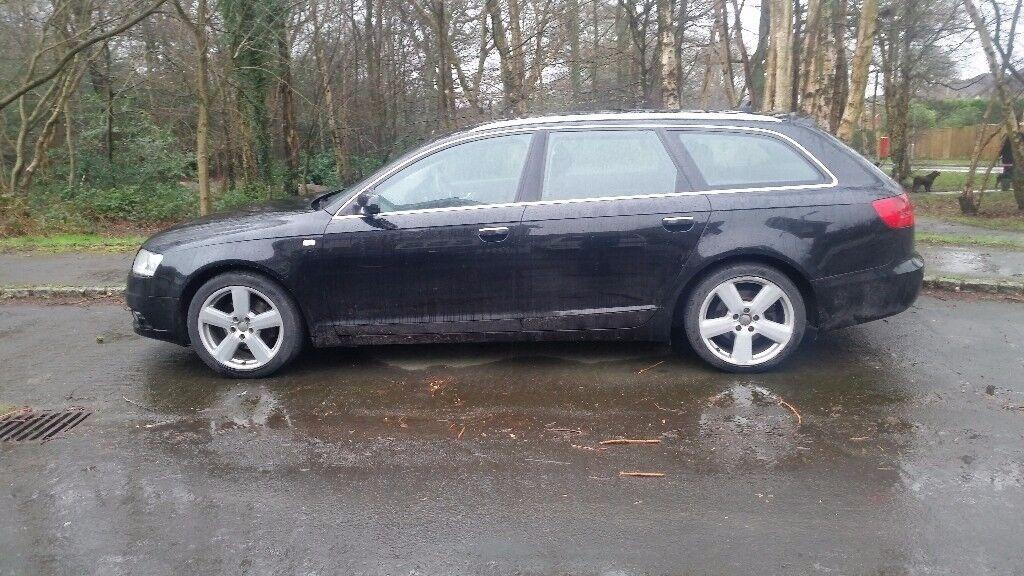 Audi A6 2.0 Tdi Estate Avant 2008 S Line Spec Full Black Leather interior