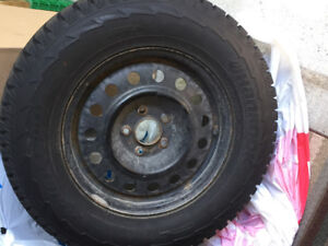 Snow tires 235 70R16 109T from my Hyundai Sante Fe