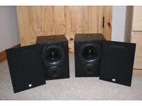 Wharfdale programme 30D.6 speakers.