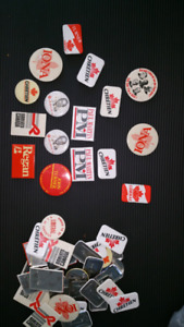 Political Campaign Pins