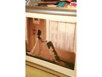 Jack Vettriano print framed