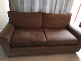Next Medium Sofa - Medium to Dark Grey