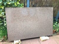 Brown high quality Granite work top suitable for kitchen island or similar
