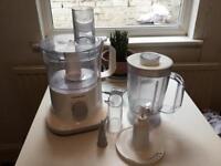 Kenwood food processor and blender set