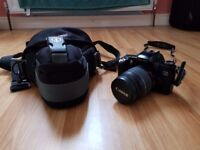 Canon EOS 3000 + Canon EF 28-80mm F/3.5-5.6 II Lens + Tamrac Camera Bag