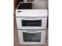 6 MONTHS WARRANTY Tricity 60cm, double oven electric cooker FREE DELIVERY