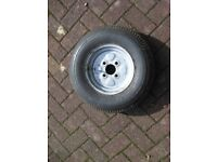 Spare Wheel for a Car Trailer