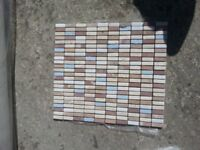 excellent condition 8 mozaic tile sheets