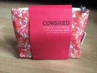 Brand new Cowshed toiletry set