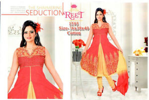 indian readymade cotton anatkali suits