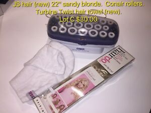 Clip in hair extension, lot C