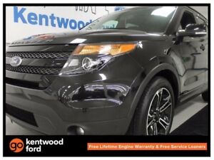 2015 Ford Explorer Sport 4WD ecoboost, NAV, sunroof, power liftg