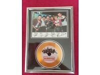 McBusted Frame with Disk and Signed Photo