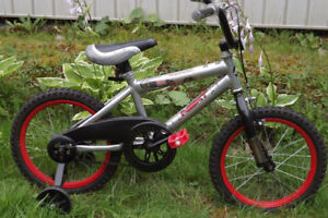 "Childs Bike With Training Wheels 16"" Single Speed $ 35.00"