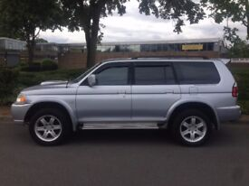 MITSUBISHI SHOGUN SPORT 2.4 DIESEL **LOW MILES** FULL LEATHER* EXCELLENT CONDITION