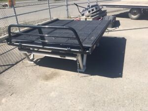 SNOWMACHINE/ATV TRUCK SLED DECK