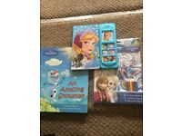 Disney Frozen book/activity bundle