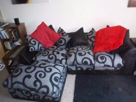 Plush Corner Sofa - Excellent Condition