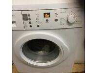 Bosch excel 7kg washing machine in mint condition with a warranty of three months