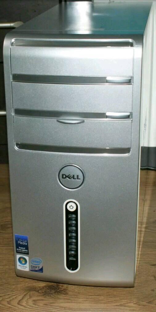 Dell FAST intel quad core pc