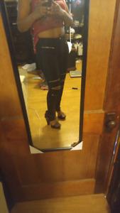 Black zipper knee pants. $20. Brand new.