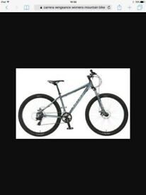 WOMENS MOUNTAIN BIKE - CARRERA VENGEANCE 18""