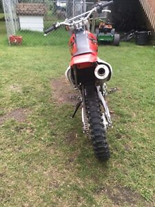 2004 Honda CRF 150f dirt bike