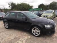 AUDI A3 2008 SPORTBACK 2.0 TDI SPORT DIESEL - MANUAL - 1 PREVIOUS OWNER
