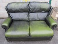2 Seat LEATHER Sofa - Very very comfy