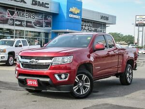 "2016 Chevrolet Colorado LT, 3.6 V6, 4X4, 18"" WHEELS, *MINT!!!!!*"