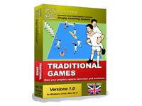 GESTICS TRADITIONAL GAMES - Make graphics sports exercises draw sport drills