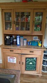 Pine Kitchen dresser.