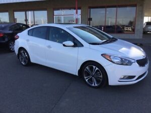 2015 Kia Forte SX Leather,  Heated Seats,  Sunroof,  A/C,