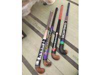 4 Hockey Sticks