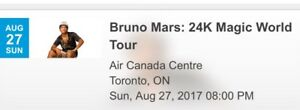 Sold out concert 100 LEVEL!!! Bruno Mars!!!