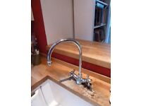 Monobloc kitchen tap