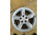 6.5Jx16 inch Renault 5 stud alloy wheels