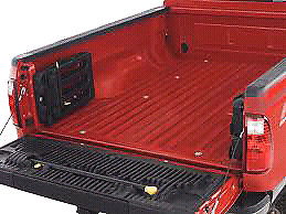Ford super duty tailgate with latter (Red)