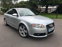 Audi A4 2.0T FSI S LINE SPECIAL EDITION (silver) 2006