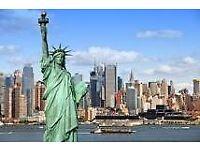 2 return Flights London to New York - November