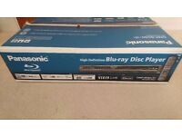 Panasonic Blueray Disc Player DMP-BD60
